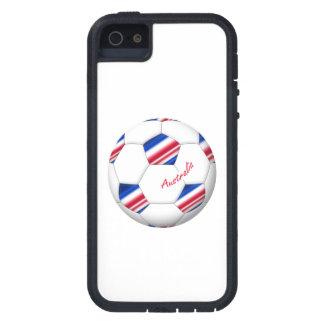 """Australian Soccer ball. Ball of """"AUSTRALIA """" Case For The iPhone 5"""