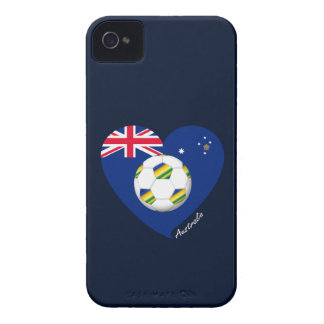 """Australian Soccer Team. Soccer of """"AUSTRALIA """" Case-Mate iPhone 4 Cases"""
