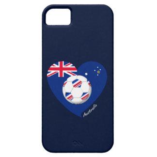 """Australian Soccer Team. Soccer of """"AUSTRALIA """" iPhone 5 Cases"""