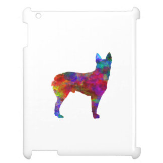 Australian Stumpy Tail Cattle Dog in watercolor.pn Cover For The iPad 2 3 4
