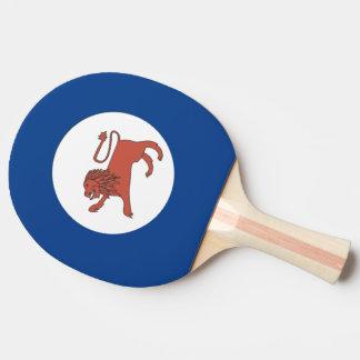 Australian Tasmania Flag Ping Pong Paddle