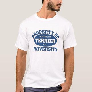 Australian Terrier University T-Shirt