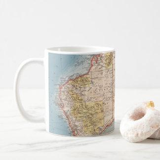 Australian Topography Map (1905) Coffee Mug