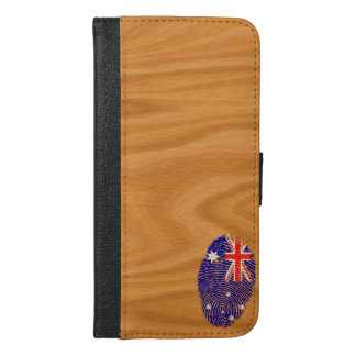 Australian touch fingerprint flag