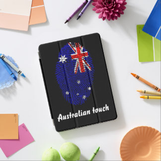 Australian touch fingerprint flag iPad air cover