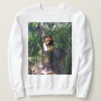 Australian Tree Kangaroo Climbing Tree, Sweatshirt