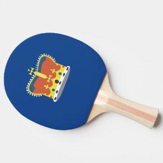 Australian Victoria Flag Ping-Pong Paddle