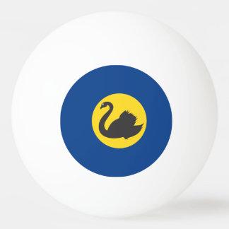 Australian Western Australia Flag Ping Pong Ball