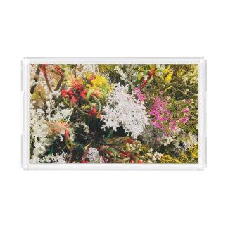 Australian Wildflowers Acrylic Tray