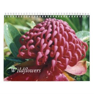 Australian wildflowers wall calendar