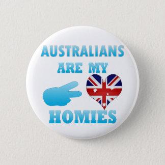 Australians are my Homies 2 Inch Round Button