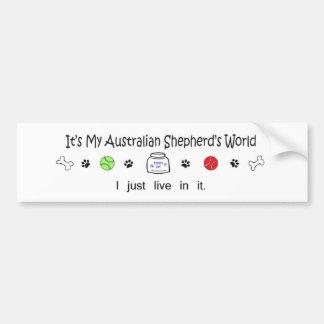 AustralianShepherd Bumper Sticker