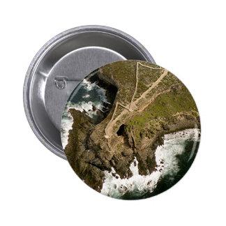 Australia's Coast: Admiral's Arch,Kangaroo Island 2 Inch Round Button