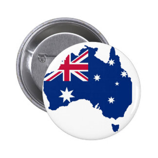 Australien Flagge Australia Style Design Anstecknadelbutton
