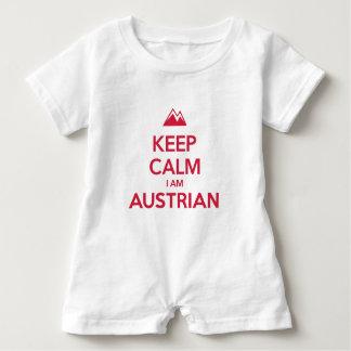 AUSTRIA BABY ROMPER