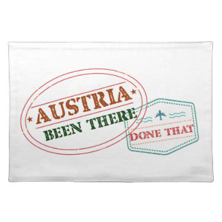 Austria Been There Done That Placemat