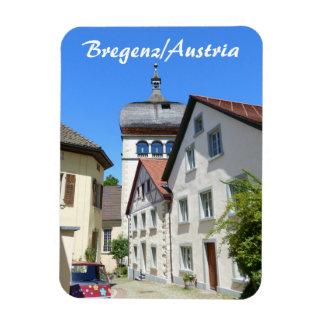 Austria, Bregenz Old Town Souvenir Rectangular Photo Magnet