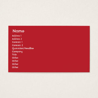 Austria - Business Business Card