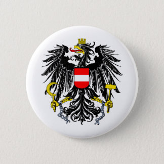 Austria coat of arms 2 inch round button