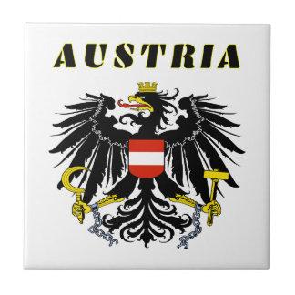 AUSTRIA Coat Of Arms Ceramic Tile