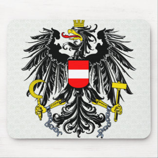 Austria Coat of Arms detail Mouse Pad