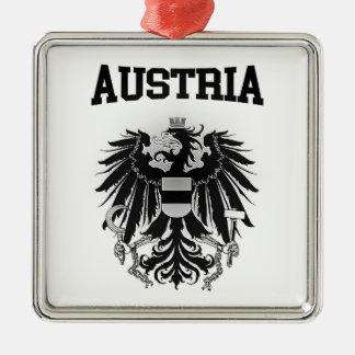 Austria Coat of Arms Metal Ornament