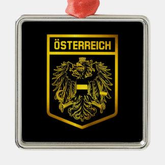 Austria Emblem Metal Ornament