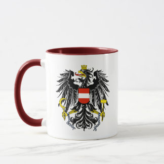 austria emblem mug