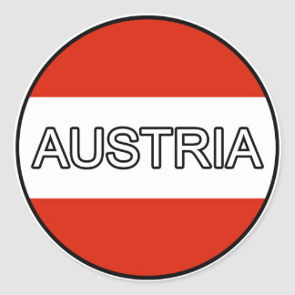 Austria Euro Sticker