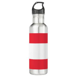 Austria Flag 710 Ml Water Bottle