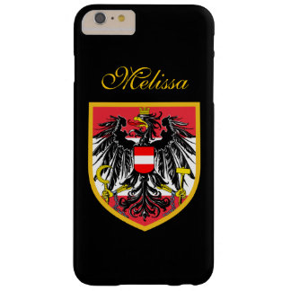 Austria Flag Barely There iPhone 6 Plus Case