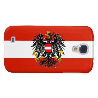 Austria Flag Galaxy S4 Cover