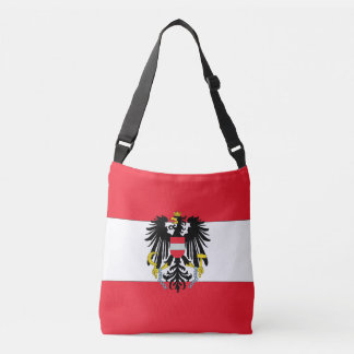 Austria Flag Crossbody Bag