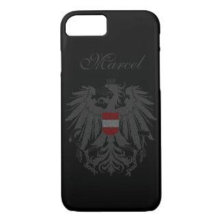 Austria Flag Customized iPhone 7 Case