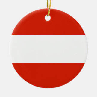 Austria Flag Ornament
