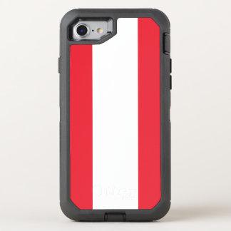 Austria Flag OtterBox Defender iPhone 8/7 Case
