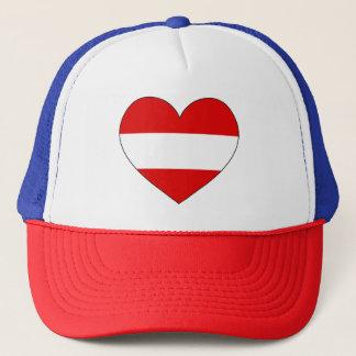 Austria Flag Simple Trucker Hat