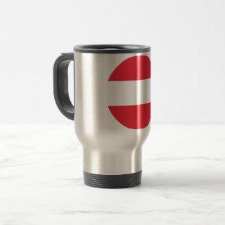 Austria Flag Travel Mug