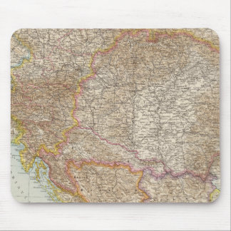 Austria Hungarian Empire Map Mouse Pad