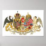Austria-Hungary (1915-18) - Coat Of Arms Portfolio Poster