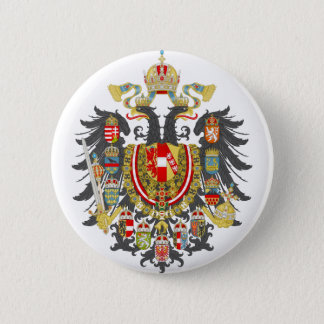 Austria-Hungary Coat of Arms 2 Inch Round Button
