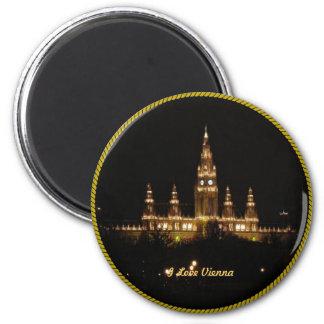 Austria: I Love Vienna Magnet