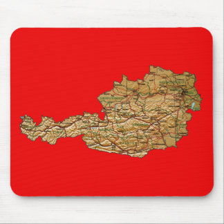 Austria Map Mousepad