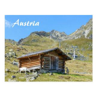 Austria Mountain Scenery Postcard