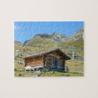 Austria Mountains Landscape Jigsaw Puzzle