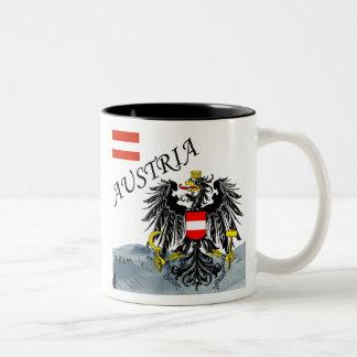 Austria - Osterreich Two-Tone Coffee Mug