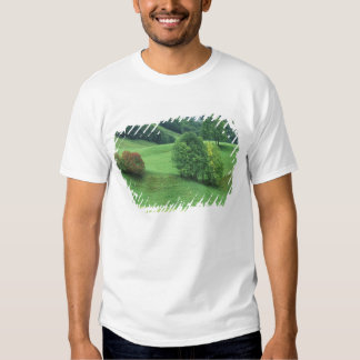 Austria. Rolling green hillside and trees Shirts