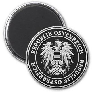Austria Round Emblem Magnet