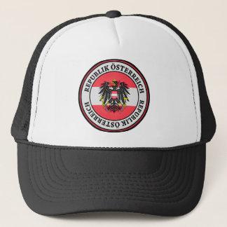 Austria Round Emblem Trucker Hat