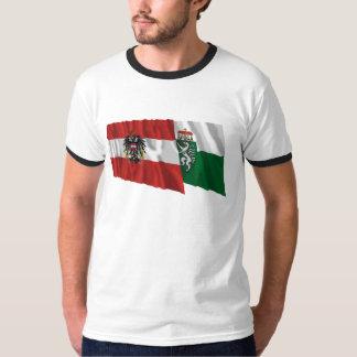 Austria & Steiermark Waving Flags T-Shirt